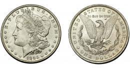 360  -  MONEDAS EXTRANJERAS. ESTADOS UNIDOS. 1 dólar. 1885. O. EBC+ B.O.