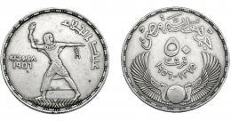 364  -  MONEDAS EXTRANJERAS. EGIPTO. 50 Piastras. 1907. KM-386. MBC.