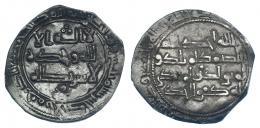 176  -  ABD AL-RAHMAN I. Dirham. Al-Andalus. 230H. V-197. MBC.