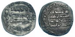 178  -  MUHAMMAD I. Dirham. Al-Andalus. 243 H. V-247. MBC.