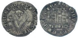 186  -  ENRIQUE IV. Cuartillo. Jaén. III-746. BMM-1013. MBC.