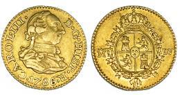 267  -  1/2 escudo. 1786. Madrid. DV. VI-1065. MBC+.