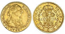 274  -  Escudo. 1780. Sevilla. CF. VI-1247. R.B.O. MBC/EBC-.