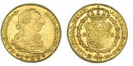 275  -  2 escudos. 1788. Madrid. M. VI-1297. MBC+.