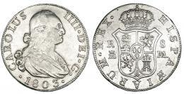 284  -  8 reales. 1803. Madrid. FA. VI-778. MBC-/MBC.