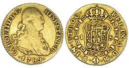 287  -  Escudo. 1789. Madrid. MF. VI-904. MBC-.