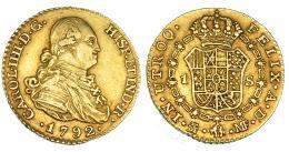 290  -  Escudo. 1792. Madrid. MF. VI-907. MBC.