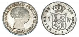 360  -  Real. 1853. Barcelona. VI-246. B.O. SC.