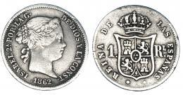 361  -  Real. 1862. Madrid. VI-272. MBC/MBC-.