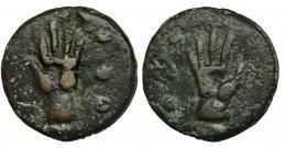 68  -  Quadrans. 269-266 a.C. CRAW-21/4. Pátina verde. MBC.