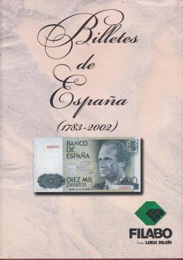 8  -  Billetes de España (1783-2002)