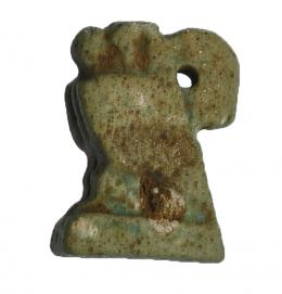 8  -  Horus. Fayenza. 15 mm. Baja Época.