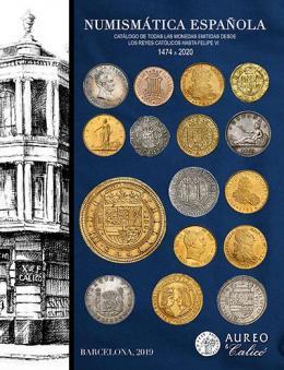 14  -  NUMISMÁTICA ESPAÑOLA Catálogo de todas las monedas emitidas desde los Reyes Católicos hasta Felipe VI