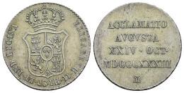 14  -  Céntimo de escudo. Isabel II. 1866. Jubia, sin OM.