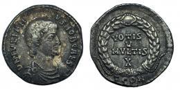 15  -  JULIANO II como César. Silicua. Arelate (355-360).