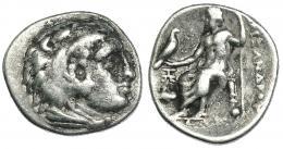 25  -  MACEDONIA. ALEJANDRO III. Abido. Dracma (c. 328-323 a.C.).