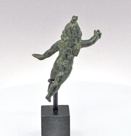 Antigua Roma Bronce. Figura de Cupido. Siglo II d.C.