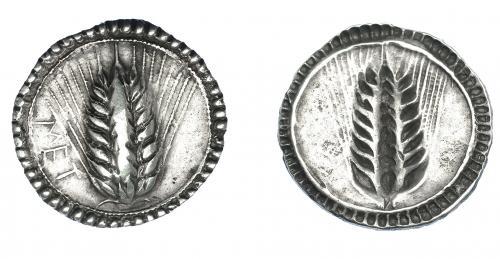 GRECIA ANTIGUA. LUCANIA. Metaponto. Estátera (540-510 a.C.)